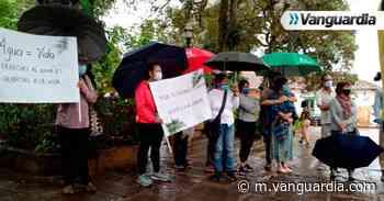 Ciudadanos en Barichara se movilizaron por el agua - Vanguardia