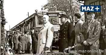 S-Bahn fährt seit 70 Jahren nach Königs WUsterhausen - Sonderzug am 1. Mai 1951 - Märkische Allgemeine Zeitung