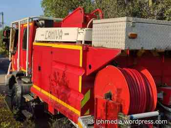 VILLENEUVE-LES-MAGUELONE : Une caravane et 1.000m² de végétation détruits aux jardins du coeur. - IPH Média