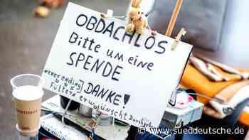 Corona verschärft Lage für Obdach- und Wohnungslose - Süddeutsche Zeitung