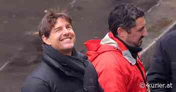 Mission Impossible 7: Regisseur teilt Foto von gefährlichem Tom-Cruise-Stunt - KURIER