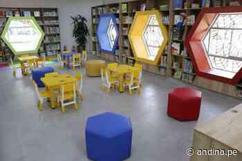 """BNP: conoce la renovada biblioteca pública """"Ricardo Palma Soriano"""" de Comas - Agencia Andina"""