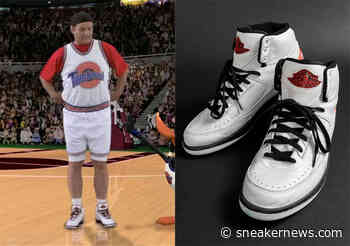 """Bill Murray's """"Game Worn"""" Air Jordan 2 Retro From Space Jam Is Up For Auction - Sneaker News"""