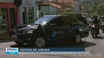 Cortejo marca despedida de prefeito de Juruaia, que morreu vítima de infarto - G1