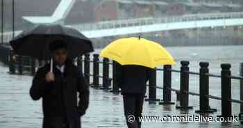 Heavy rain, snow and 50mph winds to hit the UK on bank holiday