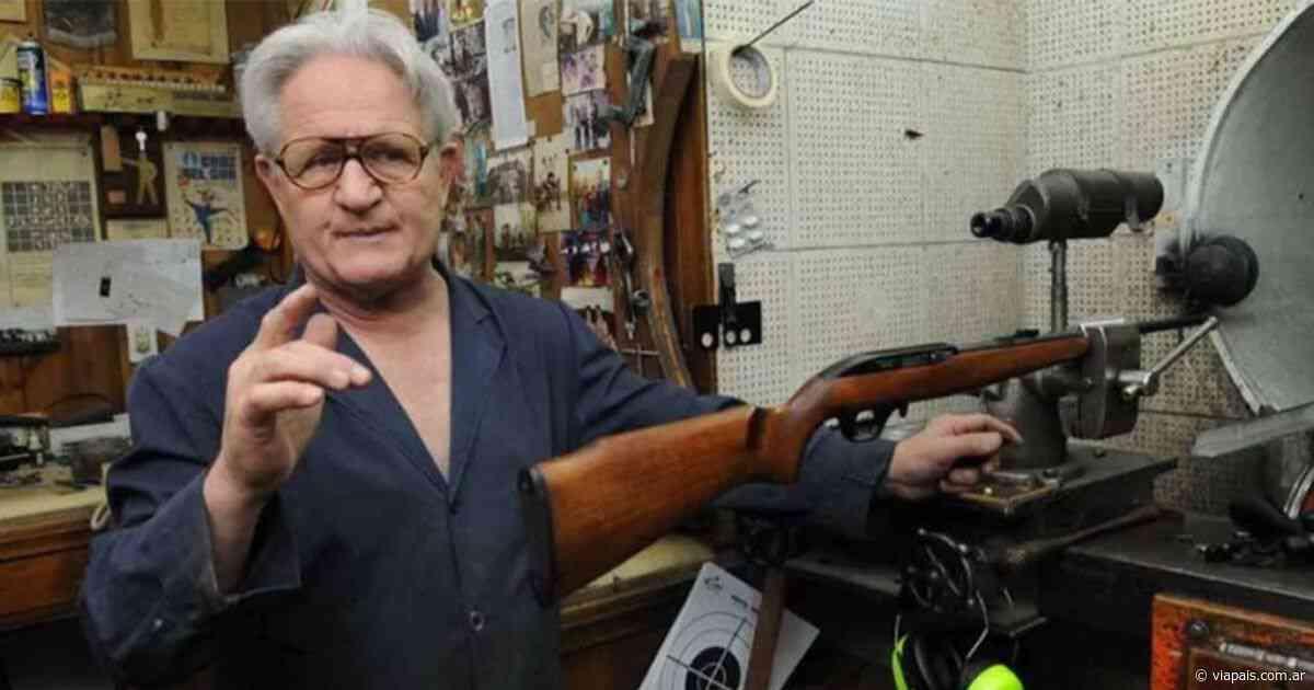 Murió Aldo Chesi, tradicional armero y deportista mendocino - Vía País