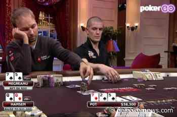 Old School Vs. New School: Negreanu analysiert eine $400K High Stakes Poker Hand vs Hansen