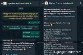 MyGov Corona Helpdesk Chatbot Helps Find Nearby COVID-19 Vaccination Centres: Here's How to Use It