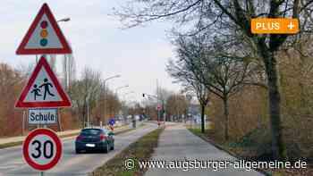 Vor der Bobinger Realschule fahren die meisten Autos zu schnell - Augsburger Allgemeine