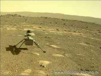Raumfahrt: Mars-Hubschrauber Ingenuity fliegt - und macht weiter - esslinger-zeitung.de