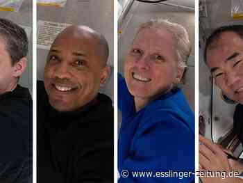 Raumfahrt: Nach sechs Monaten: Vier ISS-Astronauten zurück auf der Erde - esslinger-zeitung.de