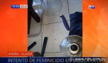 Hombre intentó asesinar a su esposa y luego suicidarse en Mbocayaty, reportan - Resumen de Noticias