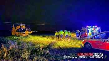 Incidente a Castenaso zona Fossamarza: moto fuori strada, interviene l'elisoccorso - BolognaToday