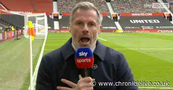 Newcastle owner Ashley didn't escape Carragher's glare after Man United protest
