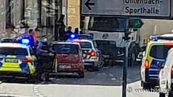 Neunkirchen: Tanke überfallen, Lkw gekapert: Polizei tasert Axt-Mann - BILD