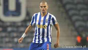 Pepe volta para o jogo grande - A Bola