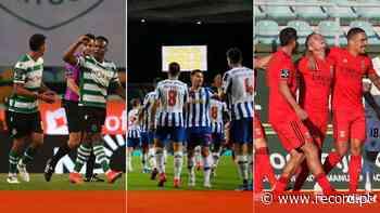 O que falta jogar a Sporting, FC Porto e Benfica até final do campeonato - Record