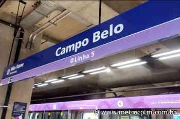 Estação Campo Belo inicia operação comercial das portas de plataforma - Metrô CPTM