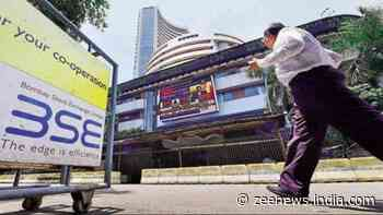 Sensex sees 690 pts recovery, ends 64 pts down; Nifty inches up to 14,634 led by metals and FMCG