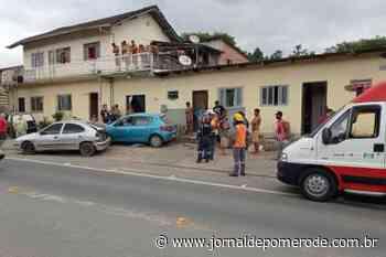 Condutor embriagado causa acidente e três pessoas ficam feridas, em Indaial - Jornal de Pomerode