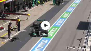 Formule 1 GP Portugal: Verstappen haalt Bottas in direct na de pitstop - Gids.tv