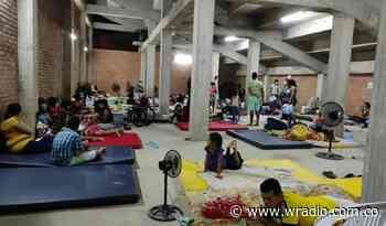 Mantendrán albergue para damnificados en municipio de Puerto Santander, zona de frontera - W Radio