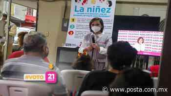 Promete Cristina Díaz apoyar a niñas y niños de Guadalupe - POSTA