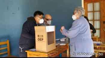 La votación en la ciudad de Sucre arranca con normalidad | EL DEBER - EL DEBER