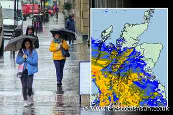 Scotland weather: Scots set for chilly start to May as showers batter country with risk of frost at night... - The Scottish Sun