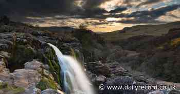 Picture Scotland: Image of cascading waterfall near Fintry has wow factor - Daily Record