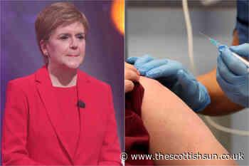 Coronavirus Scotland: Nicola Sturgeon under scrutiny over vaccine 'discrepancies' as Scotland lags behind W... - The Scottish Sun