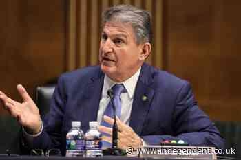 Manchin goes against Washington DC statehood bill