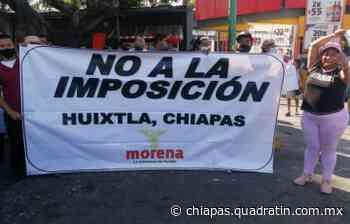 Impugnan candidatura de José Luis Laparra para alcaldía de Huixtla - Quadratín Chiapas