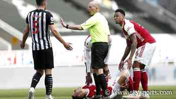 Ref Watch: Schar unlucky to see red