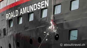 Hybridschiff Roald Amundsen ist getauft - TRAVEL INSIDE - TRAVEL INSIDE