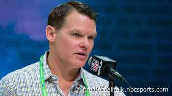 Chris Ballard: Left tackle's a need, but it didn't match up at that point in the draft