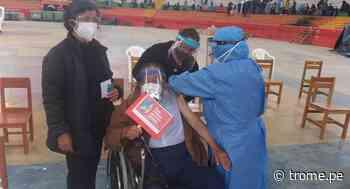 Cajamarca: Abuelito de 99 años recibió vacuna contra el coronavirus en Celendín - Diario Trome