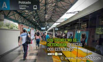 ¡OJO! Estaciones Alpujarra y Universidad fuera de servicio - Minuto30.com