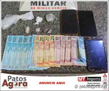 Casal é detido por tráfico de drogas pela PM de Monte Carmelo - Patos Agora