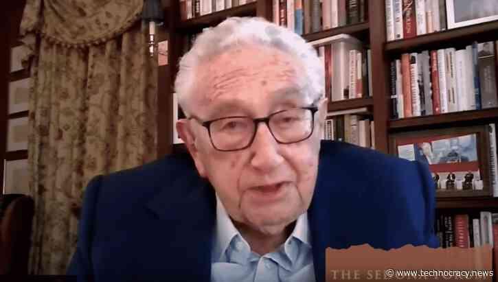 Henry Kissinger Warns Of US-China Armageddon