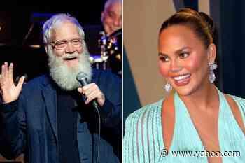 David Letterman, Chrissy Teigen Joining Global Citizen's 'Vax Live' Event - Yahoo Entertainment