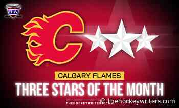 Calgary Flames' 3 Stars of the Month - April 2021 - The Hockey Writers