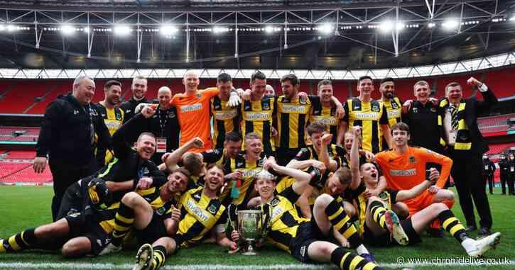 Hebburn Town 3-2 Consett - Hornets are Vase Champs