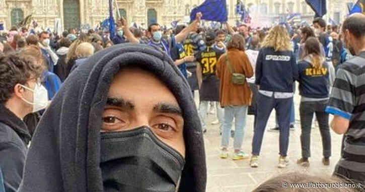 Festa Inter, anche Filippo Magnini in Piazza Duomo tra la folla: scoppia la polemica e lui cancella la foto