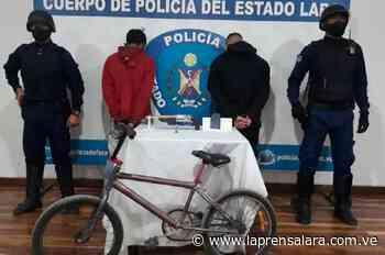 Polilara detiene a par de azotes del barrio Indio Manaure - La Prensa de Lara