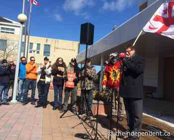 Corner Brook residents march against austerity — The Independent - TheIndependent.ca