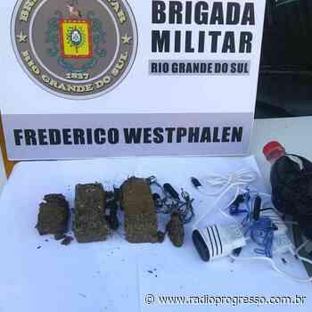Suspeitos de tráfico de drogas são presos em Palmitinho e Frederico Westphalen - Rádio Progresso de Ijuí