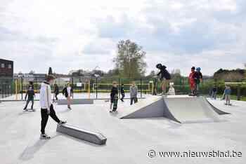 Meteen al druk op gloednieuw skatepark