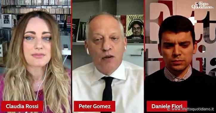 """Caso Fedez, Peter Gomez: """"Quella della Rai è un'autocensura, hanno fatto tutto da soli per paura della reazione dei partiti"""""""