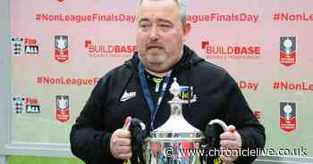 Hebburn manager Kevin Bolam eager to bring his team back to Wembley